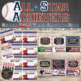 Baseball Classroom Decor Bundle - Editable