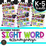 Color by Sight Word | Christmas | K-5th Differentiated Bundle | Dolch | Fry