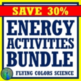 **SAVE 30%**  Energy Activities BUNDLE For Middle School