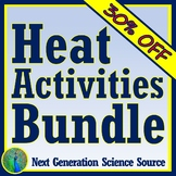 **SAVE 30%**  Heat Activity BUNDLE For Middle School MS-PS3-3 MS-PS3-4