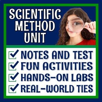 **SAVE 30%** Middle School Scientific Method Worksheet & Activity BUNDLE