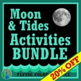 *SAVE 30%*  NGSS Moon & Tides Activity BUNDLE for MS-ESS1-1 MS-ESS1-2
