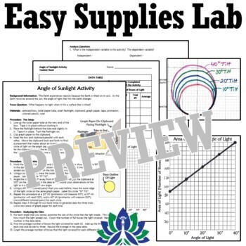 *SAVE OVER 30%*  NGSS Seasons Supplemental Activity BUNDLE (With Project)