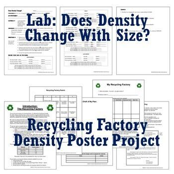 **SAVE 30%** Supplemental DENSITY Activity & Final Project BUNDLE