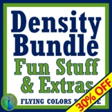 DENSITY Worksheet and Density Activity BUNDLE MS-PS1-7