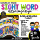 Fifth Grade Color by Sight Word | Hanukkah | December Activities