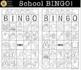 """SCHOOL BINGO!"" [Marie Cole Clipart]"