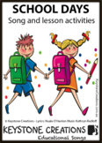 Children SING & LEARN days of the school week & roles of v