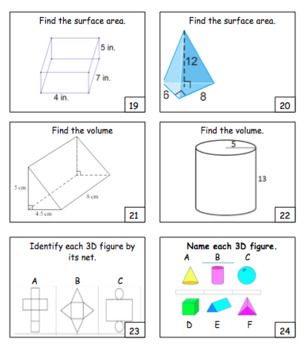 """""""SCOOT"""" - EDITABLE Review Game for Geometry (or ANY Skill / Subject!)"""