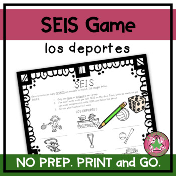 ¡SEIS! - Los deportes (IMAGES)