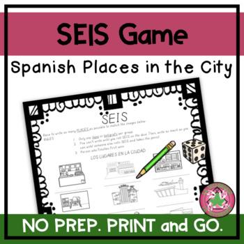 ¡SEIS! - Los lugares en la ciudad (IMAGES) (Places in the city)