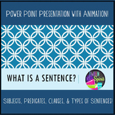 Types of Sentences: What is a Sentence? Presentation, Prac