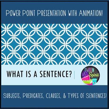 Types of Sentences: What is a Sentence? Presentation, Prac