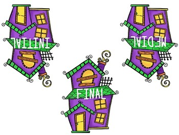 /SH/ Articulation Board Games - Halloween Theme