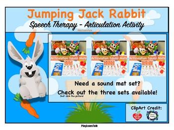 """SH"" - Sound Mat - Jumping Rabbit Game Companion"