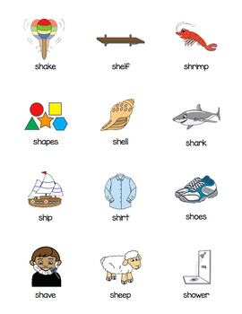 /SH/ and /CH/ Phonemes - All Sports Bundle