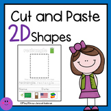 Practice 2D Shapes and Shape Words Worksheets