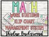 - SHIPLAP - MATH Workstation Clip Chart Management System