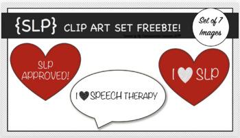 {SLP} Clip Art Set FREEBIE!!!