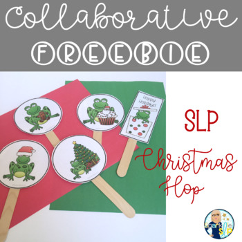 #SLPChristmasHop Collaborative Freebie:  Reinforcement and Story & Song Visuals