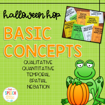 #SLPHalloweenHop Basic Concept Mini Books