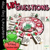 #SLPValentineHop Valentine's Day WH- Questions