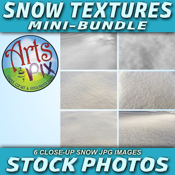 """SNOW"" - Winter - Snow Textures - Stock Photos mini-BUNDLE"