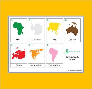 *SPANISH* 200 Montessori Cards Bundle