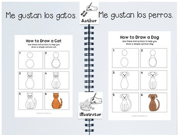 *SPANISH VERSION* - Journal Prompts with Drawing Supports