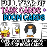 YEAR LONG TASK BOXES + BOOM CARDS