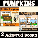 Pumpkins and Halloween Adapted Books