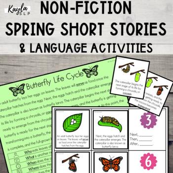 {SPRING} Short Stories + Language Activities!