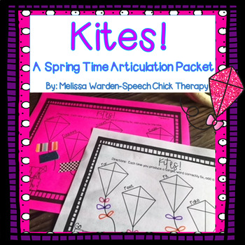 Kites Articulation Packet