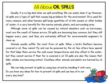 Oil Spill Unit