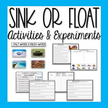Sink or Float STEM Experiments and Activities