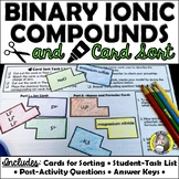 Binary Ionic Compounds - Cut and Paste Activity