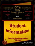 """""""STUDENT INFORMATION HANDOUT"""" -- STAGE #4 - """"Mock Interview Day Activity"""""""