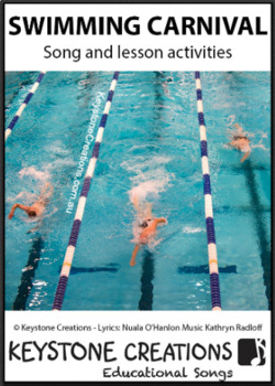 'SWIMMING CARNIVAL' ~ MP3 Curriculum Song & Lesson Materials