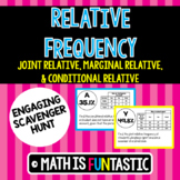 Relative Frequency Scavenger Hunt (Joint, Marginal, & Conditional)