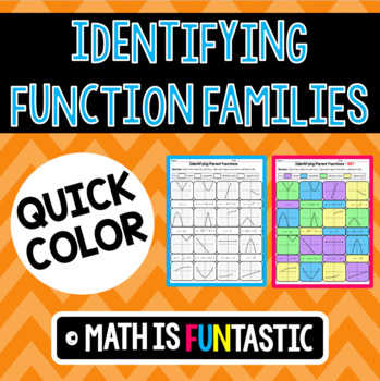 Identifying Function Families Quick Color