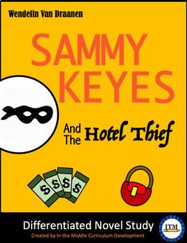 """""""Sammy Keyes and the Hotel Thief"""" Novel Study"""