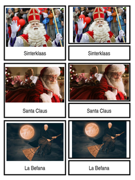 """""""Santa Clauses""""/ Gift Givers Around the World"""
