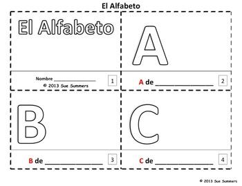 Spanish Back to School Emergent Readers Bundle - 6 Sets of 2 Booklets