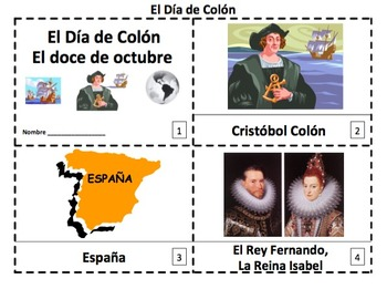 Spanish Fall Emergent Readers Bundle - 6 Sets of 2 Booklets