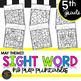 Fifth Grade Sight Word Activities Color by Code for End of Year