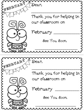 """""""Save the Date"""" Classroom Volunteer Forms {Editable}"""
