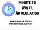 $ Saving Articulation MEGA Bundle Version TWO:: 8 packets