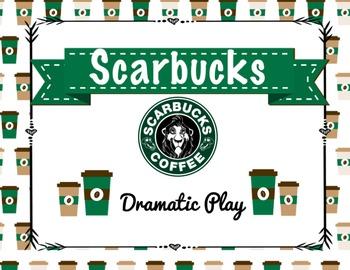 """Scarbucks"" Coffee Dramatic Play Center"