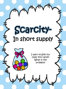 {Scarcity Activities} differentiated texts, maps and sorts