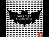 "Halloween: ""Scary Night"" by Lesley Gibbes - comprehension activities"